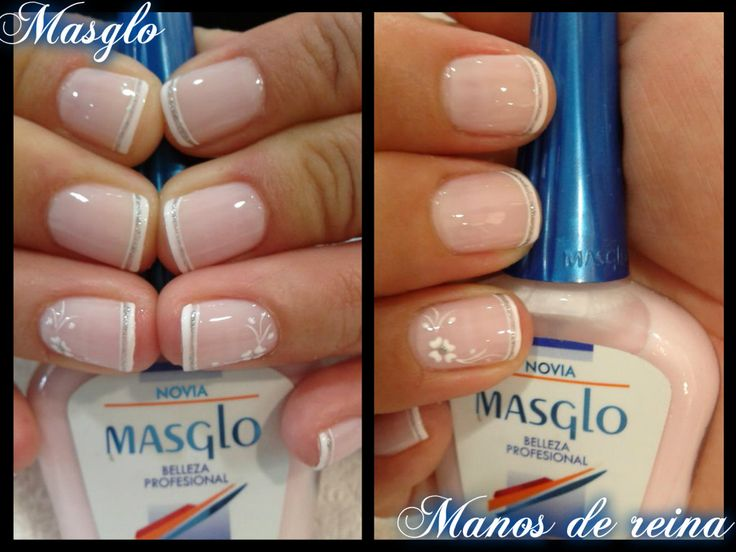 81 best Uñas pintadas images on Pinterest | French manicures, French ...
