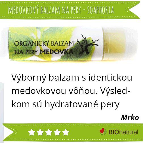 Hodnotenie balzamu na pery medovka od Soaphoria http://www.bionatural.sk/p/medovka-bio-balzam-na-pery-5g?utm_campaign=hodnotenie&utm_medium=pin&utm_source=pinterest&utm_content=&utm_term=balzam_medovka