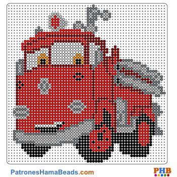 Red de Cars plantillas hama beads web 8ae46