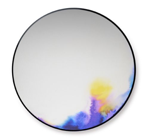 watercolor mirrors by constance guisset