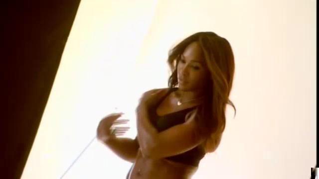 Serena Williams photo shoot for  Berlei bras.