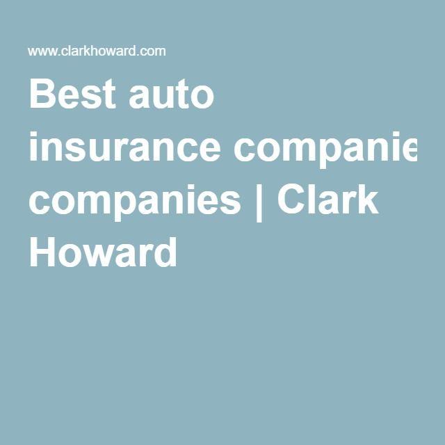 Best auto insurance companies | Clark Howard