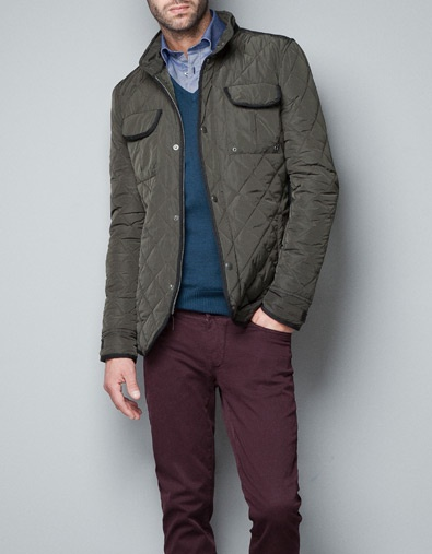 QUILTED JACKET - Jackets - Man - ZARA United States