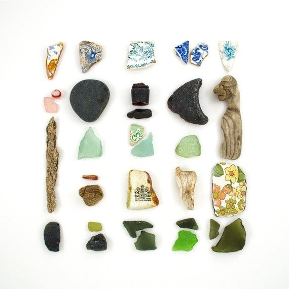 Whimsical World of Laura Bird: Beachcombing Series by Jennifer Steen Booher