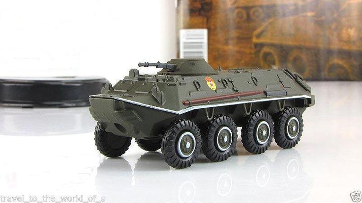 1:72 BTR-60 PB 1959 Soviet armored personnel carrier scale model & mag №34 #GeFabbri #BTR60PB