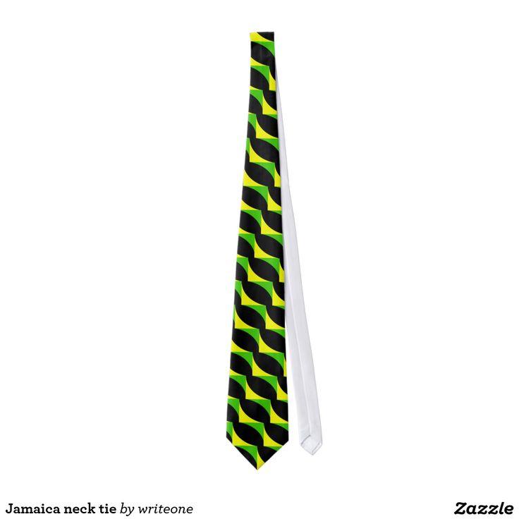 #Jamaica neck tie