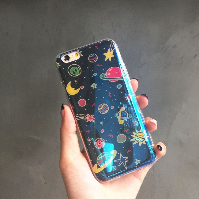Blue Star Pattern Phone Case For Iphone 6/6S/Plus SP165227