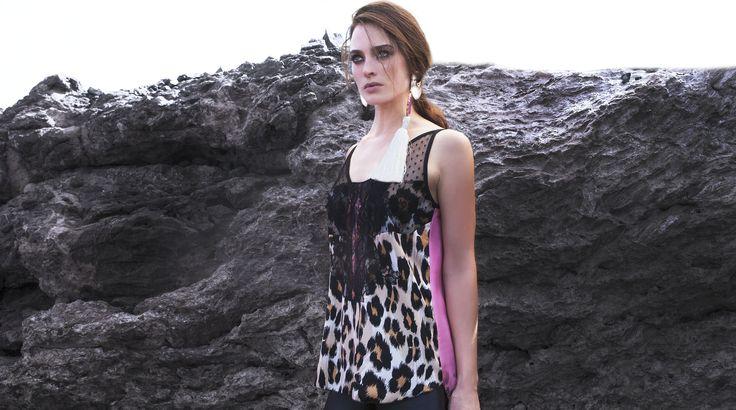 Lingerie Top by Pinelopi. Shop now>http://goo.gl/ND4jBa