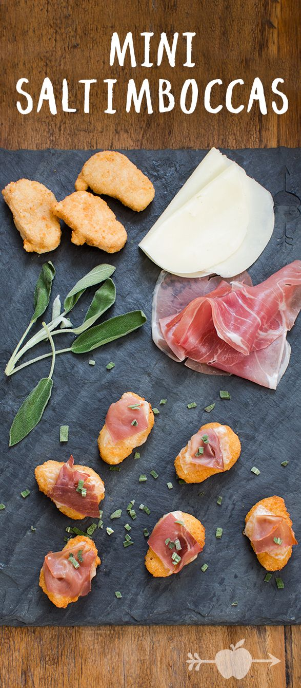 """Saltimbocca means """"jump in your mouth,"""" and these miniature versions of the Italian classic certainly will."""