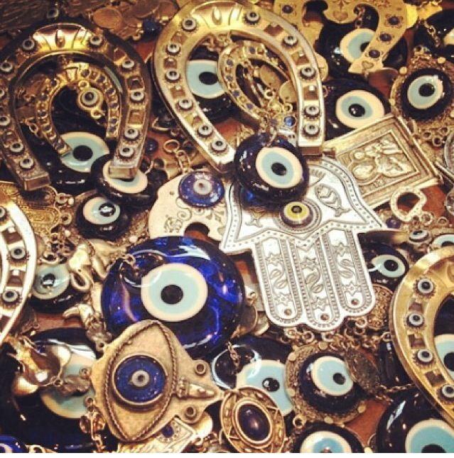 Nazar boncugu, evil eye..