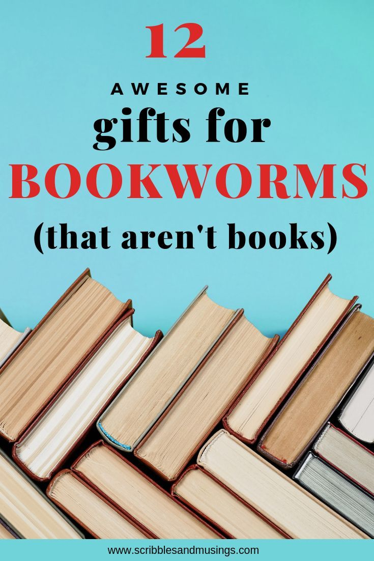 Cool gifts for bookworms that are not books in 2020