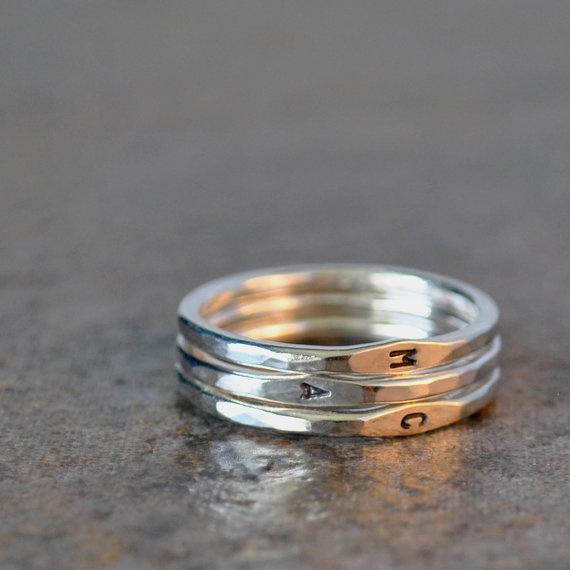 Ringe modern gold