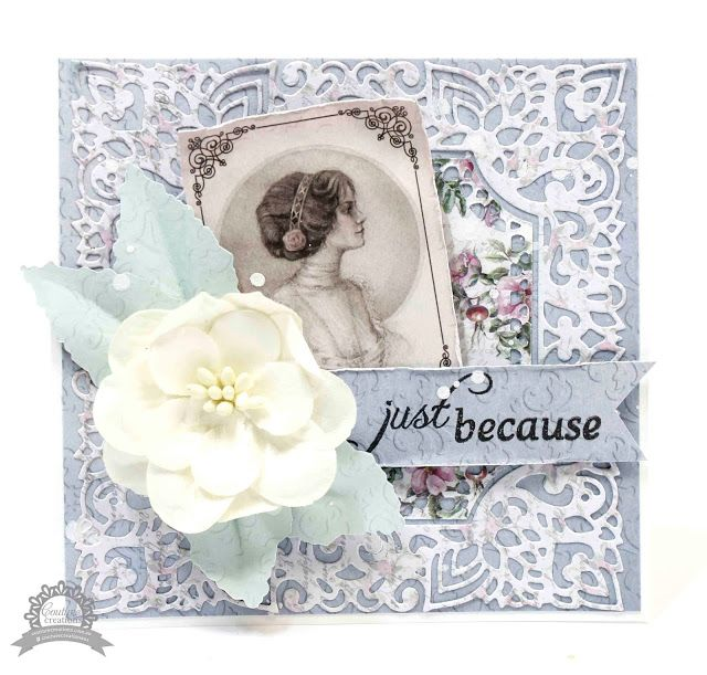 Couture Creations: Just Because Cards by Anita Bownds