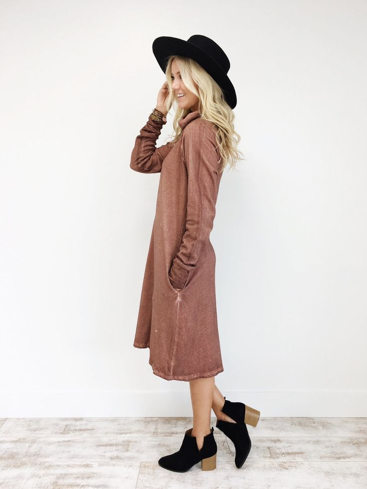 Over + Over Dress in Mauve | ROOLEE