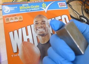 Health Ranger accused of elaborate hoax for conducting science demonstration with Wheaties cereal