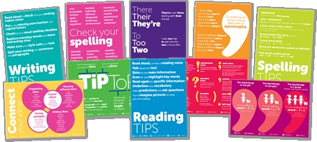 Teachit Primary - KS2 Literacy posters, set of 10