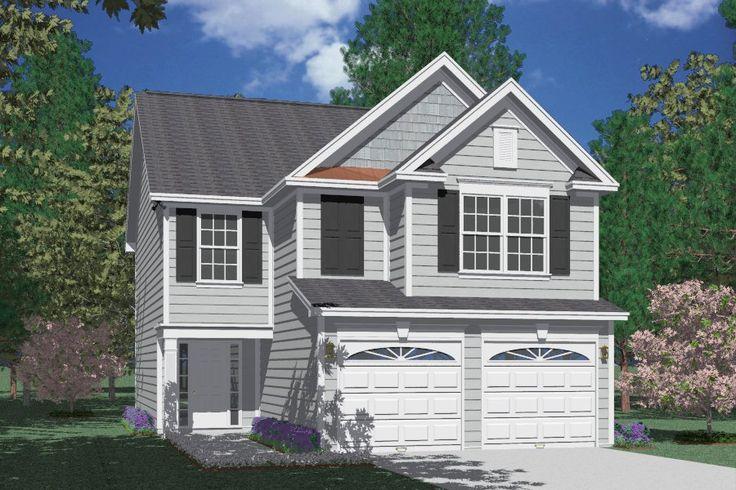 "House Plan 1600B Walterboro ""B"" elevation 1600 Square"