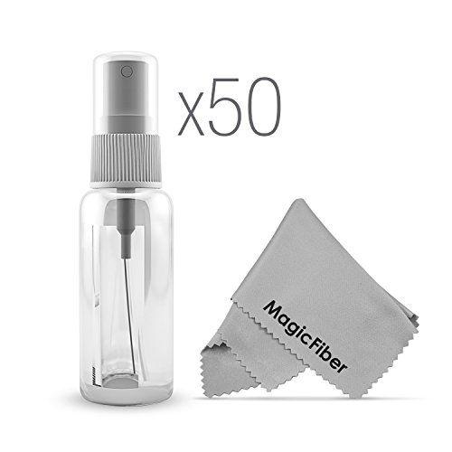 (50 Pack) Empty 20mL (0.66oz.) Clear Plastic Fine Mist Sp…
