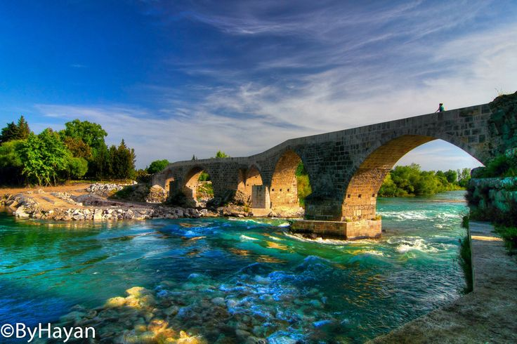 Aspendos(Belkıs) Bridge,Antalya.