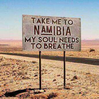 Greatest description for travel to Namibia