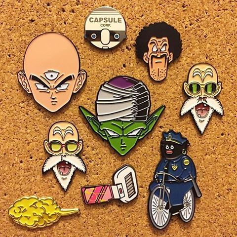 DRAGONBALL PINGAME FAMILY (shops tagged) For those of you asking for SCOUTERS, I have more on the way. Different colors. Should be fun. Shout out to Pinvader for the picture!  #otherworldshop #otherworldcollective #other #world #shop #collective #pin #lapel #hatpins #dbz #dragonballz #roshi #popo #scouter #capsulecorp #zfighter #satan #hercule #goku #vegeta #gohan #bulma #nimbus - Visit now for 3D Dragon Ball Z compression shirts now on sale! #dragonball #dbz #dragonballsuper
