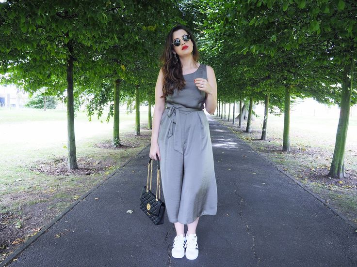 S/S 2016 Trends: Khaki Cropped & Flared Jumpsuit | Pam Scalfi♥
