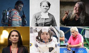 A year in sexism … Leslie Jones, Harriet Tubman, Mary Beard, Gine Miller, Jessica Meir and John Inverdale