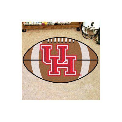 FANMATS NCAA University of Houston Football Doormat