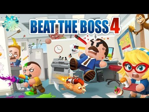 BEAT THE BOSS 4 Gameplay iOS / Android
