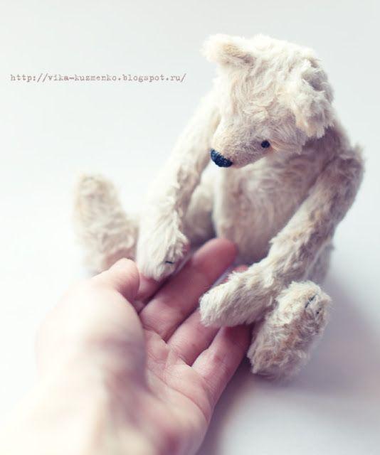 мое рукоделие:): Мой Потап (часть2) taddy-bear