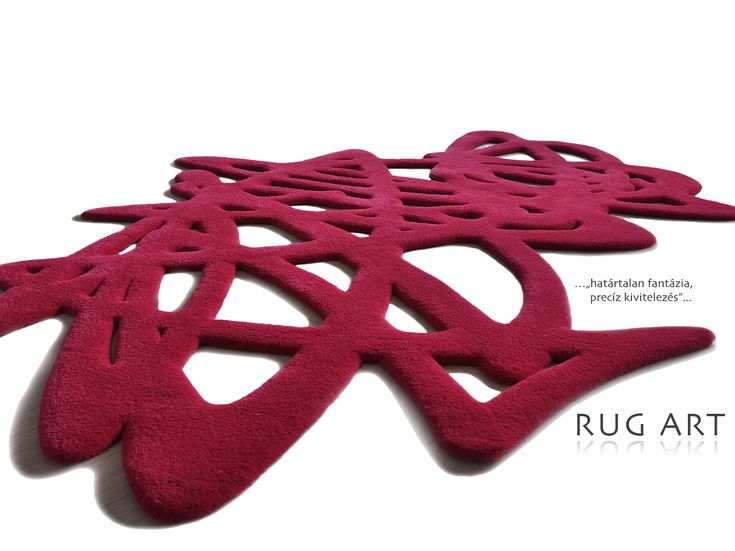 """""""Doodle"""" - 3D Lace, hand-tufted rugs"""