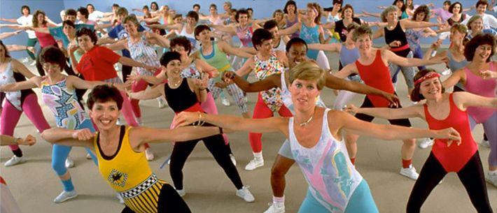 when we jazzercise...