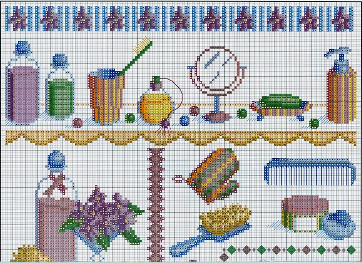 17 best images about bathroom cross stitch on pinterest for Bathroom cross stitch patterns free