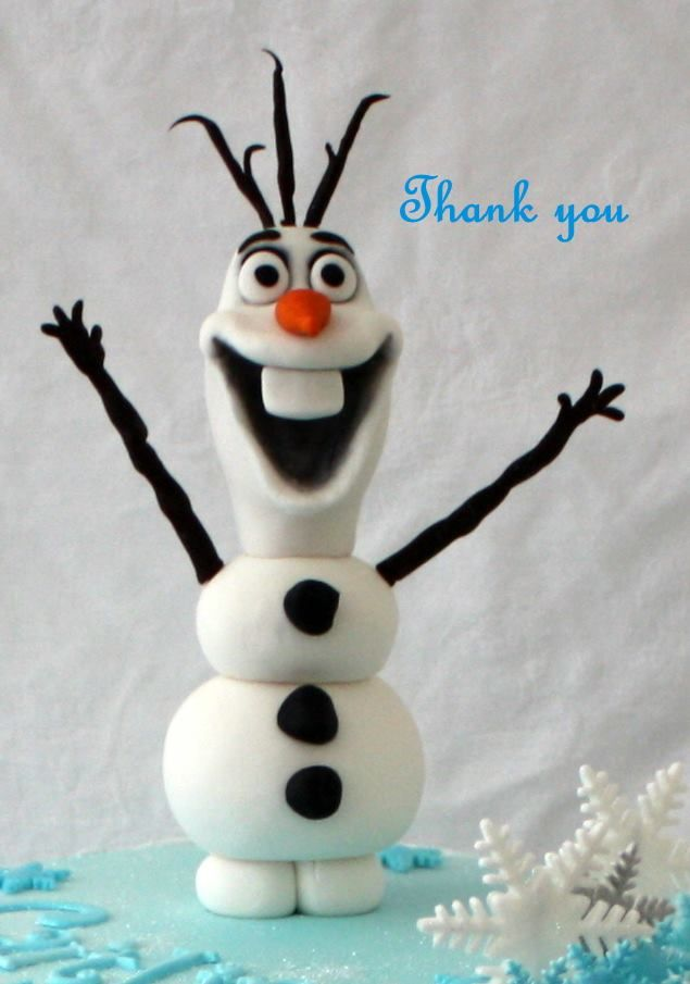 This is the most amazing Frozen Olaf cake I have ever seen. Mystique Cake Creations Perth