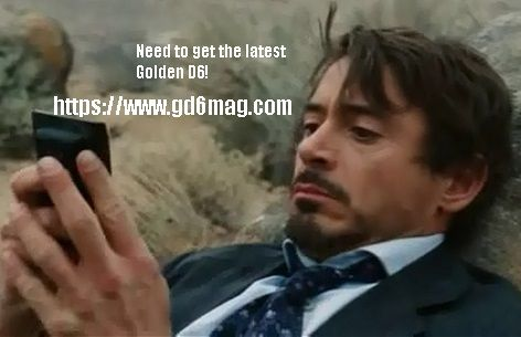 #thegoldend6; It's on Tony's to do list! https://www.gd6mag.com