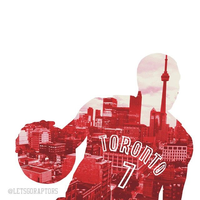 Toronto Raptors - Kyle Lowry. Credit to: @letsgoraptors on IG.