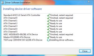 Install SATA AHCI Driver to Windows 7 After Install