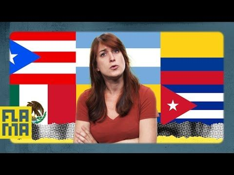 Many people speak Spanish... but we speak it in TOTALLY different ways. Dominicans don't sound anything like an Argentinians. Meanwhile, Chileans sound like ...