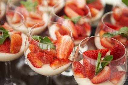 Strawberrys in a glas
