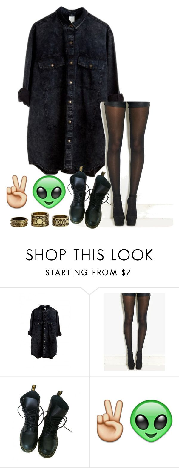 """taylor swuft fan"" by queen-bee-xo ❤ liked on Polyvore featuring Monki, Pretty Polly, Dr. Martens, Charlotte Russe, women's clothing, women's fashion, women, female, woman and misses"