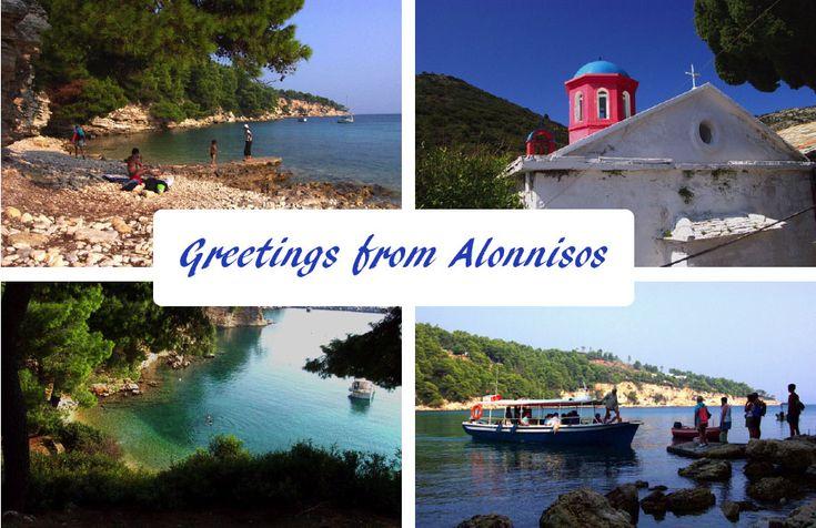 Alonnisos Postcard
