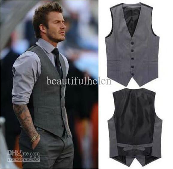 Wholesale Vests - Buy Fashion Mens Vests Demin Vests Men Cotton Vests Casual Suits Vest Tops Men Vest Top Outwear Demin Vest for Men Vests Grey Casual Man Vest, $20.21 | DHgate
