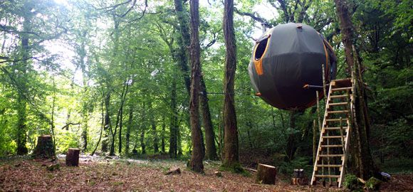 The Lost Meadow Tree Tent, Cornwall, UK