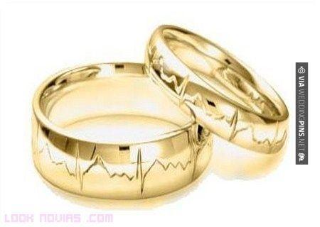 So good! - Anillos de Boda  Lo ultimo en grabado de anillo de boda, el ritmo cardiaco de los novios   CHECK OUT THESE OTHER COOL INSPIRATIONS FOR NEW Anillos de Boda OVER AT WEDDINGPINS.NET   #AnillosdeBoda #Anillos #weddingrings #rings #engagementrings #boda #weddings #weddinginvitations #vows #tradition #nontraditional #events #forweddings #iloveweddings #romance #beauty #planners #fashion #weddingphotos #weddingpictures