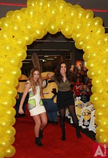 Despicable Me 2 at Hoyts Sylvia Park, L to R, Cassie Henderson, Jackie Thomas , June 25th 2013.
