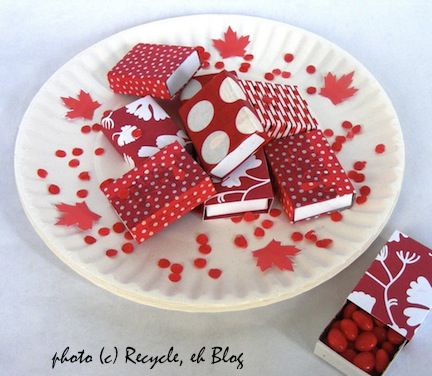 More Canada Day craft ideas