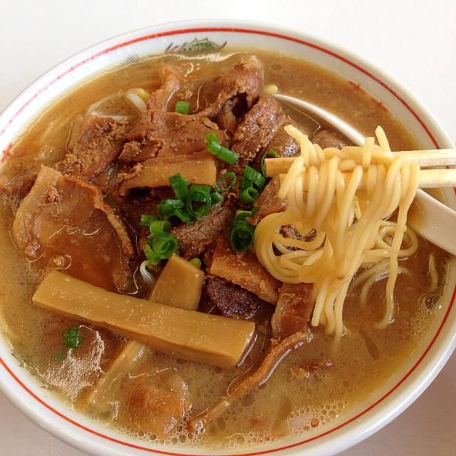 #ramen #tokushima #japon - 12件のもぐもぐ - 中華そば肉入り (小) by maixx ใหม่