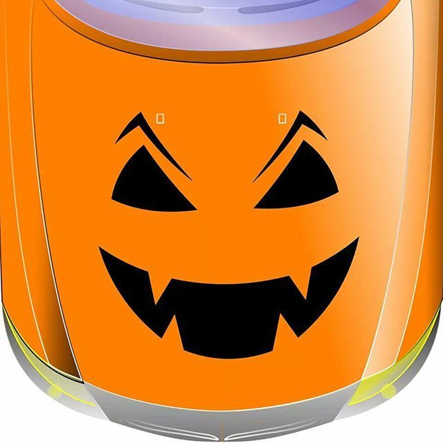 #stickertuningfetzt  #halloween #3110 #kürbis #monster #gruselig #autoaufkleber  www.ab-foliendesign.de