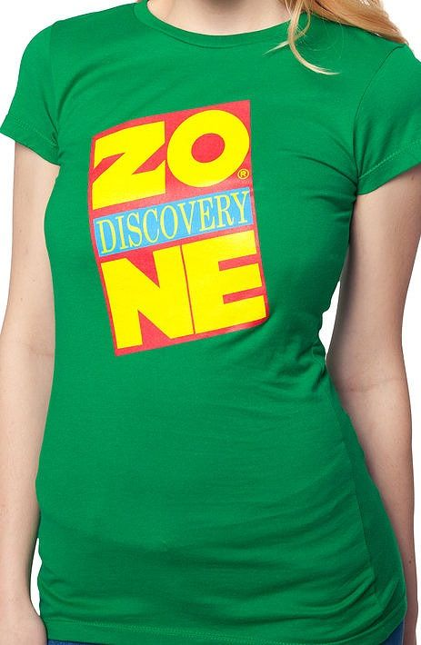 Ladies Discovery Zone Shirt: Discovery Zone Juniors T-shirt