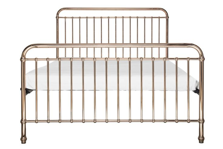a classical and timeless King bed. Eden comes in a gorgeous rose gold colour. expertly crafted of sturdy and strong metal with simple curves.